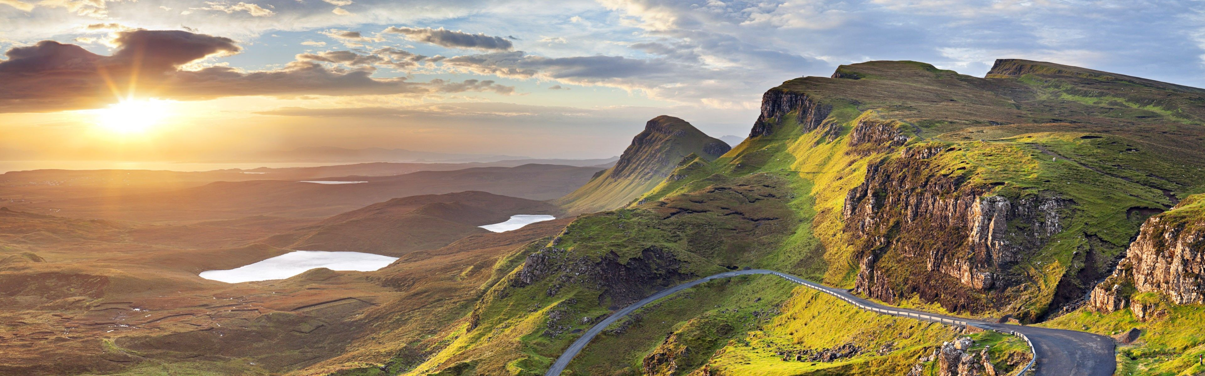 Panoramic Photography Scotland Hd Desktop Wallpaper