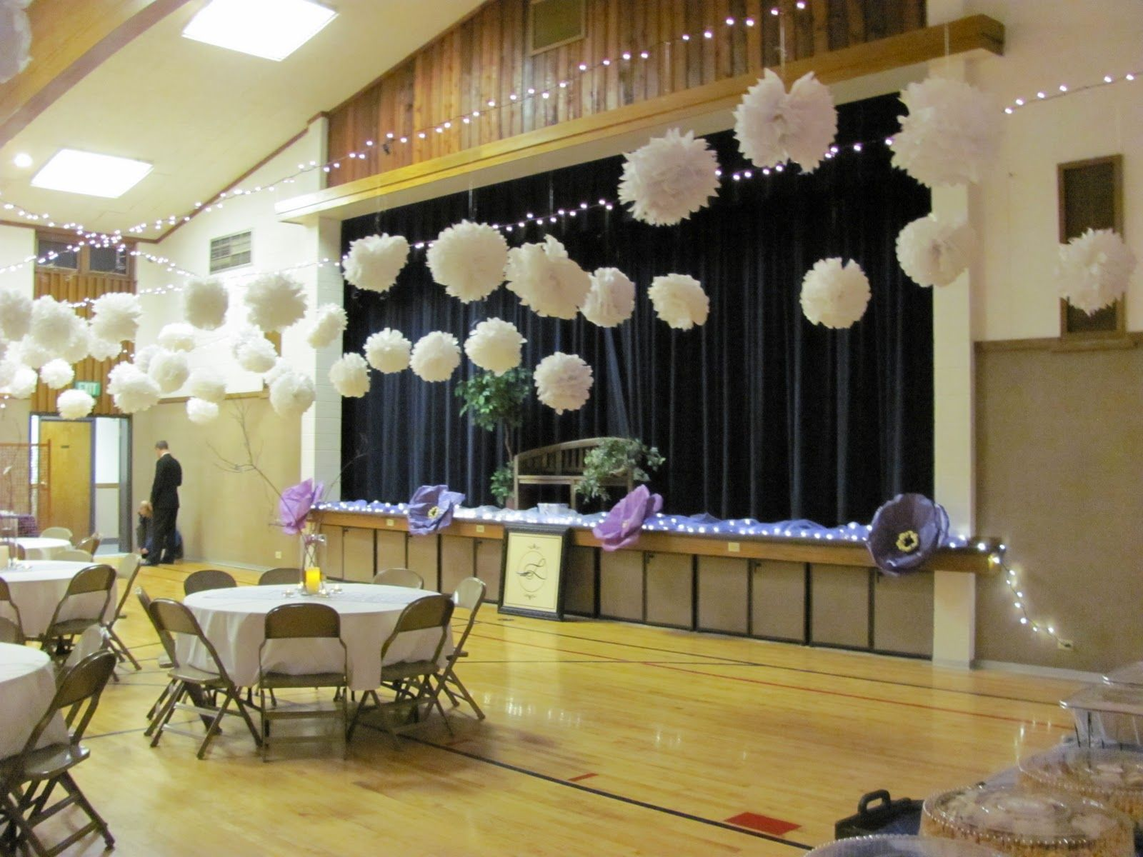 How To Decorate A Gym For Wedding