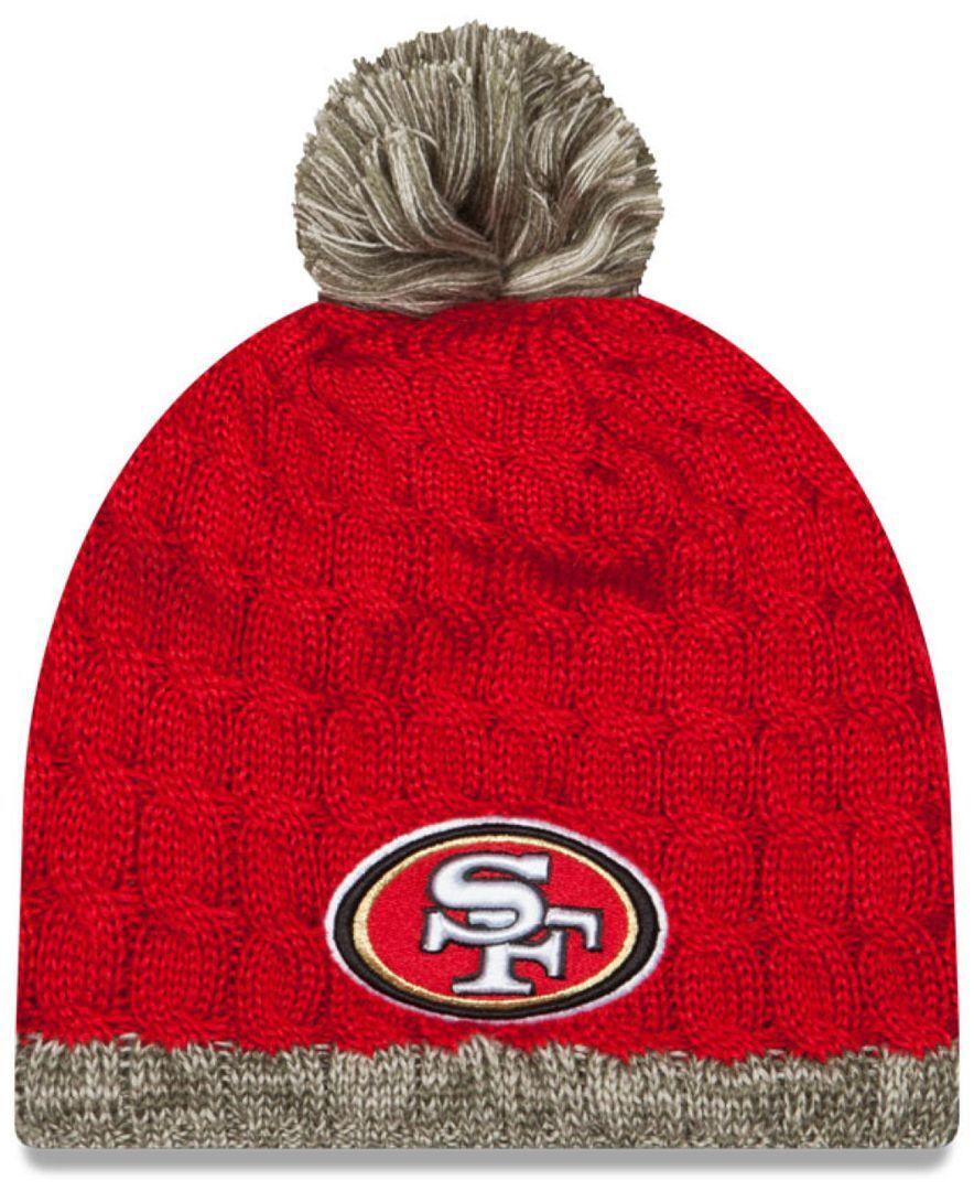 New Era Women's San Francisco 49ers Salute to Service Knit Hat