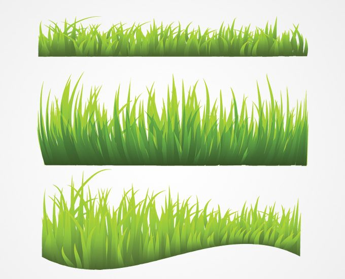 Grass Vector (Free) | Free Vector Archive | Fabrics & pattern ...