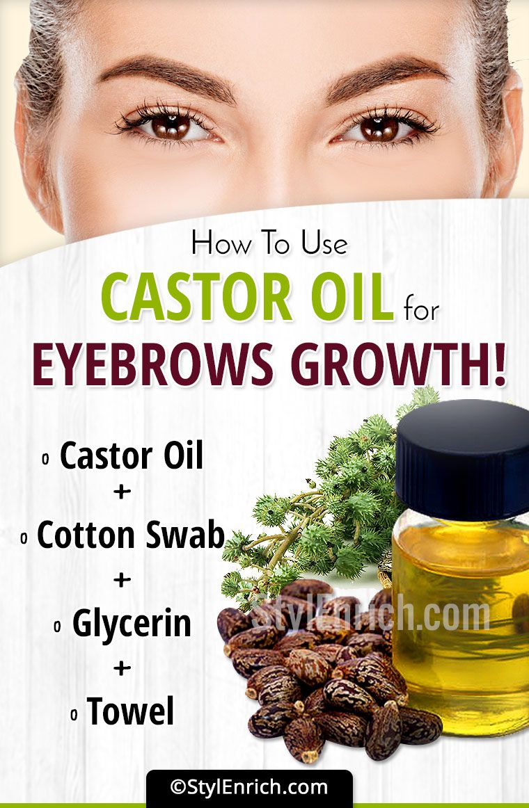 Castor Oil For Eyebrow Growth Detailed Guide On How To Use This
