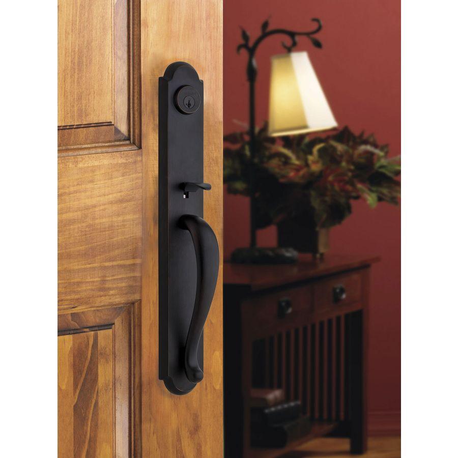 Shop Baldwin Prestige Bighorn Smartkey Venetian Bronze Single Lock