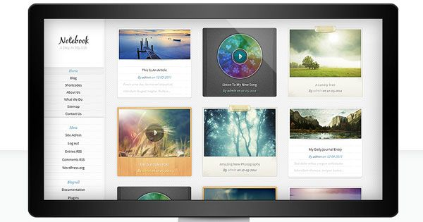 cool Notebook WordPress Theme v2.7.7 Free Download | We Share ...
