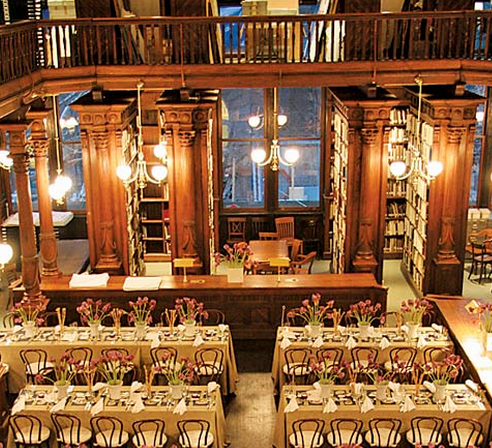 Wedding Reception In Othmer Library At Brooklyn Historical Society