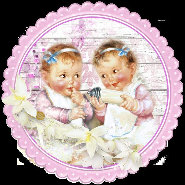 Картинка с надписью близняшки, подруге днем