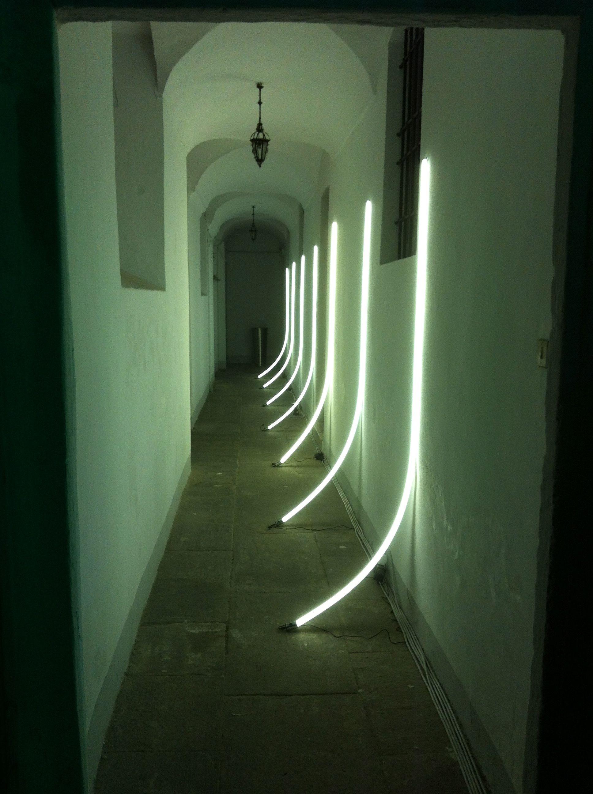 Outdoor LED lighting systems by Antonangeli Corridor