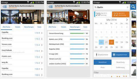 trivago Android App Multimédia
