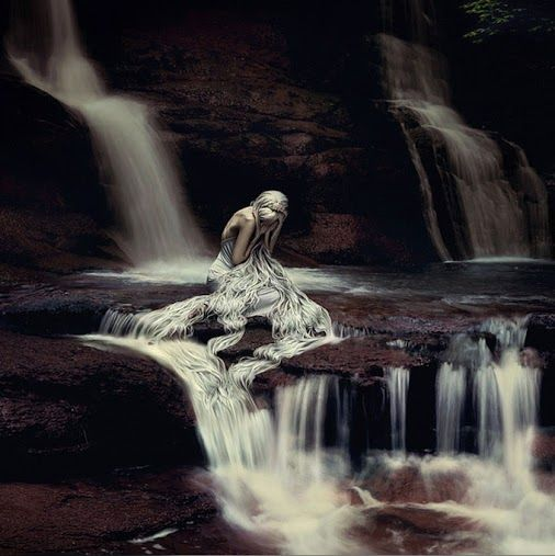 The pool of the white witch by Rosie Anne Prosser Photography
