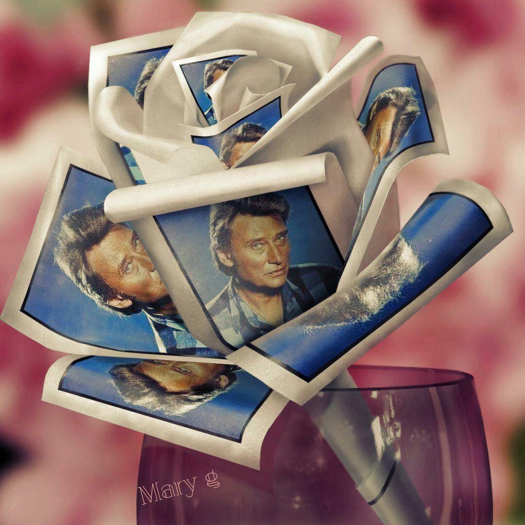 Mr Johnny Hallyday Notre Coeur De Rocker A L Infinie Dans Mon Coeur Johnny Hallyday Rockeuse Les Gifs