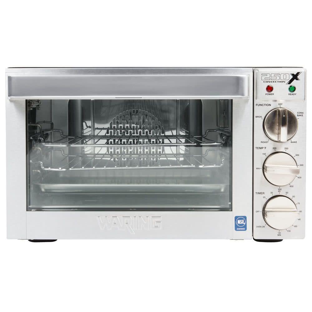 Waring Wco250x Quarter Size Countertop Convection Oven 120v 1700w Countertop Convection Oven Countertop Oven Oven