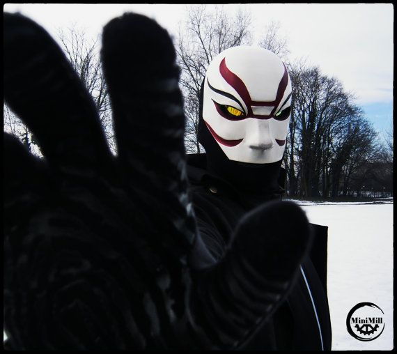Kabuki Mask Kit Villain Big Hero 6 Big Hero 6 Big Hero Villain Mask