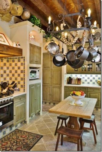 Bonitas cocinas decoradas estilo mexicano deco casa for Cocinas estilo mexicano