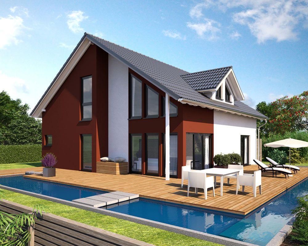 Hanlo Einfamilienhaus Living 185 Gartenansicht ---> Zahlreiche ...