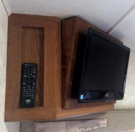 Pin By Kathy Brackett On For The Home Rv Tv Wall Mounted Tv Rv Tv Mount