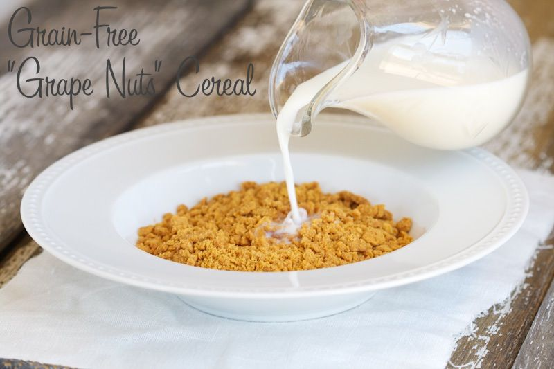 how to make grape nuts