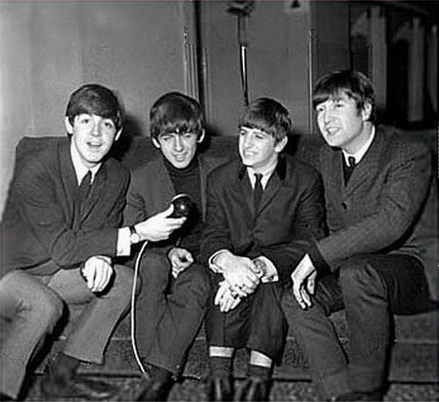 The Beatles interview themselves at the ABC Cinema, Carlisle on 21st
