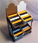 Wire Counter Display + 4 Kraft Boxes $9.95