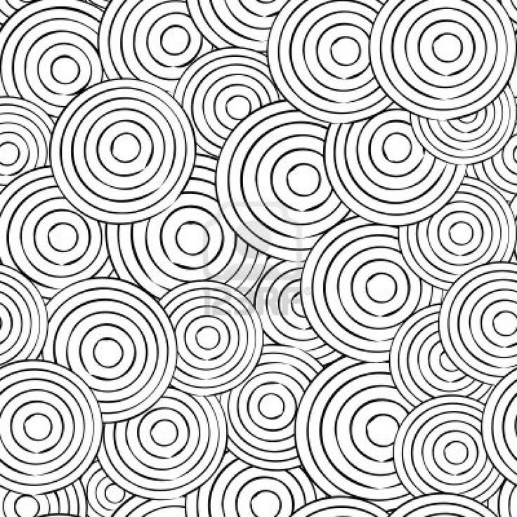 mosaic circle coloring pages