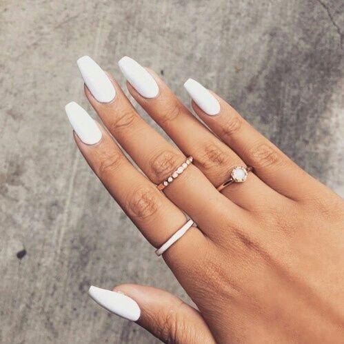 Pinterest Nikkicarr07 Nails Nagels Witte Nagels En