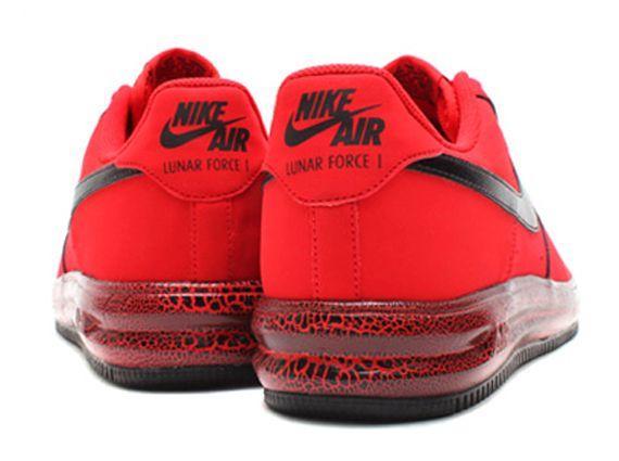 buy cheap 4577c 72636 Nike Lunar Force 1 Low University Red Black