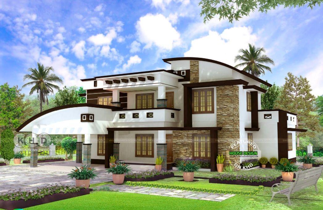 4 BHK Contemporary House Plan with Interior Design ...