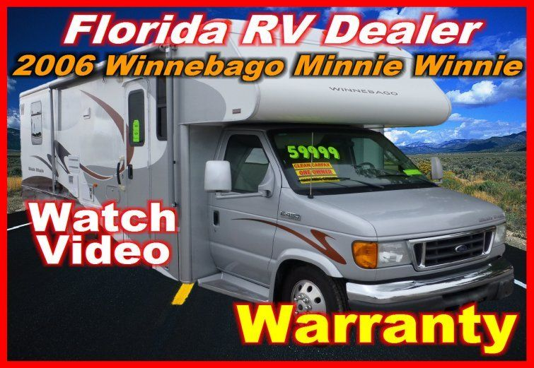 2006 Winnebago Minnie Winnie 31 C for sale - Port Charlotte