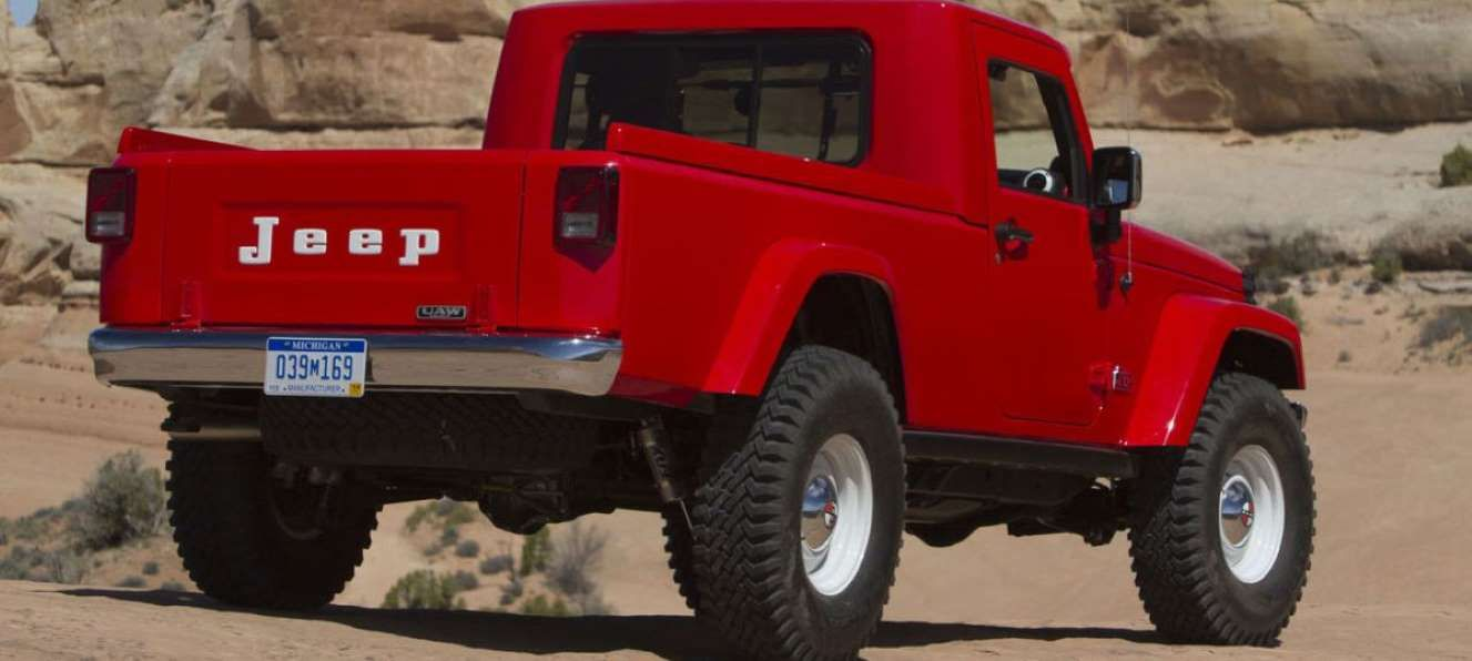 A Wrangler Pickup Is On Its Way In 2019 And It S High On Our List Of Cars We Can T Wait To Drive W Jeep Jeep Wrangler Pickup Wrangler Pickup Jeep Pickup