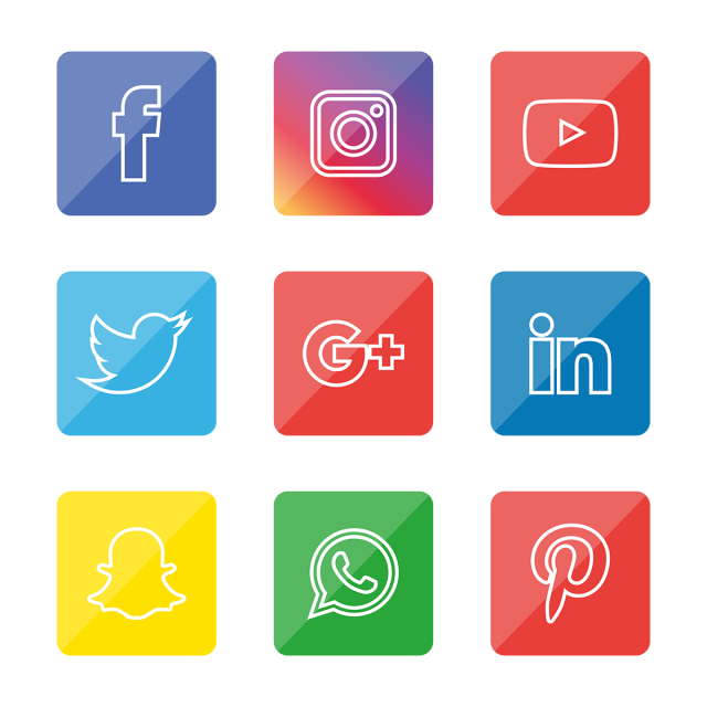 Social Media Icons Set Free Logo Design Template Social Icons Logo Icons Media Icons Png And Vector With Transparent Background For Free Download Social Media Icons Icon Set Design Logo Design