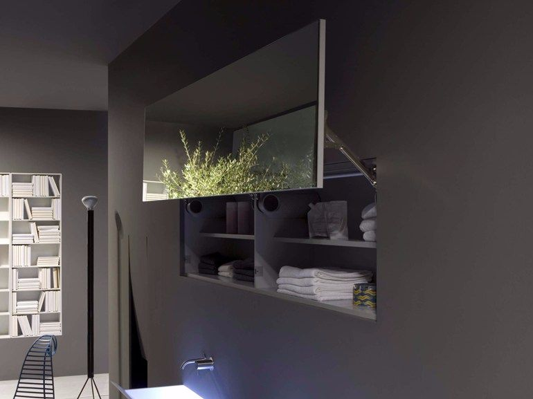 Specchio con contenitore per bagno by Antonio Lupi   Bathroom ...