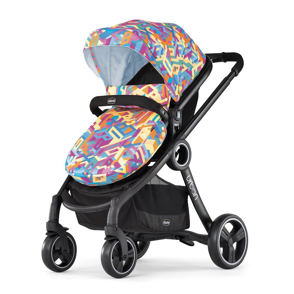 The Chicco Urban Stroller is a stylish, sixinone modular