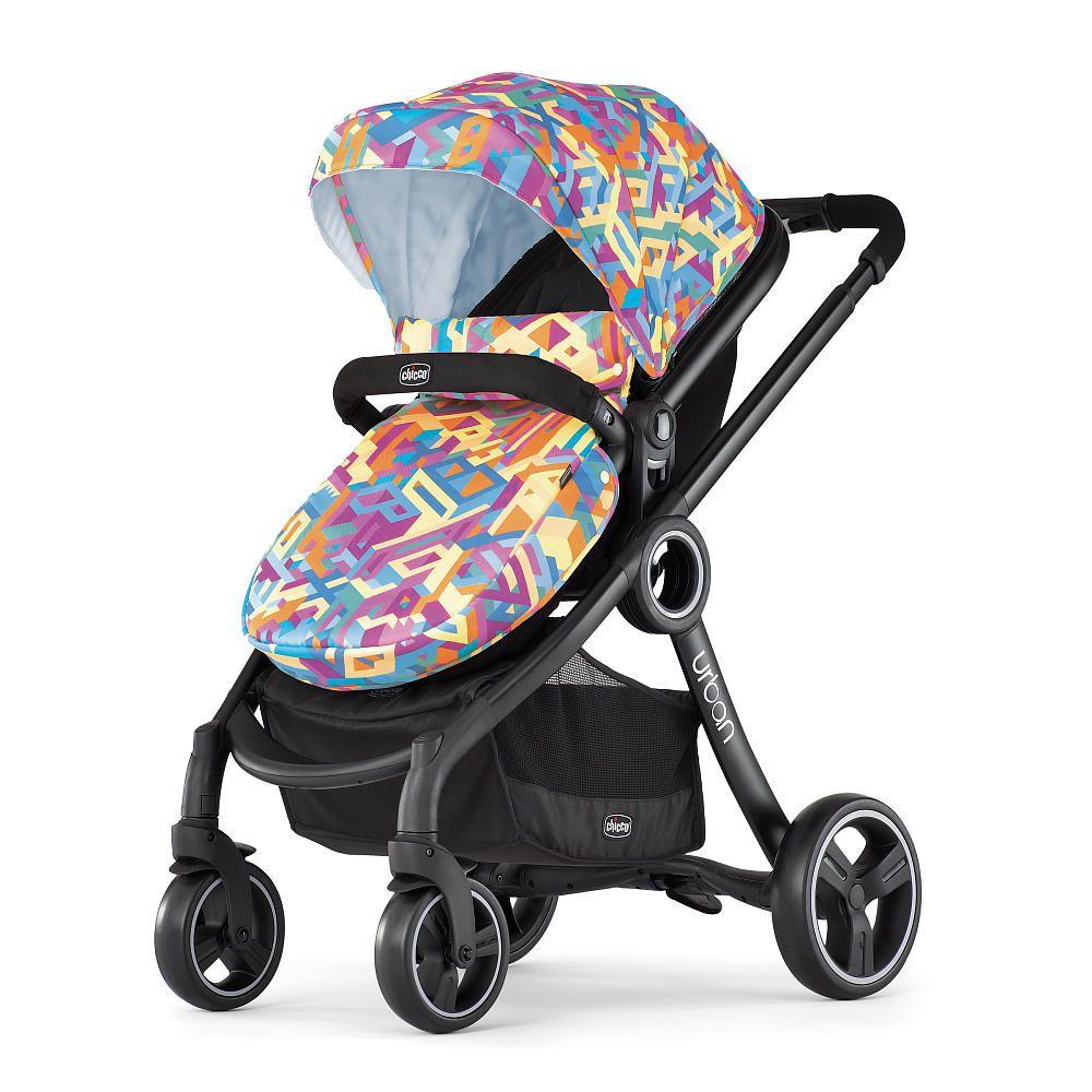 The Chicco Urban Stroller is a stylish, sixinone modular