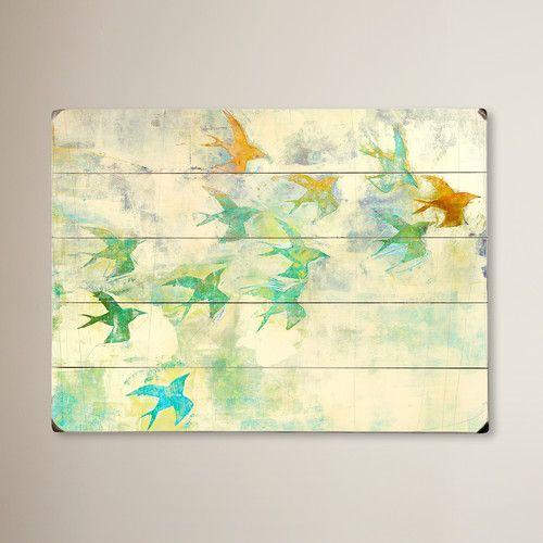 Found it at Joss & Main - Birds Wall Art | pictures | Pinterest ...