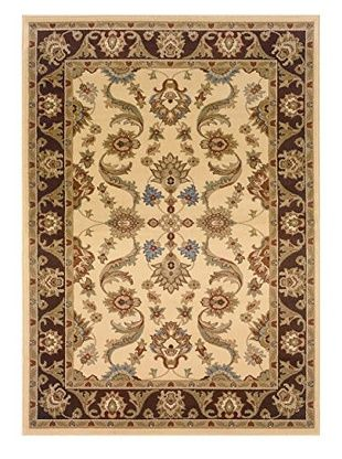 LR Resources Adana Rug (Cream/Brown)