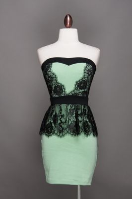 mint oreo dress  #swoonboutique....this would be a simple t shirt redo