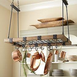 All Sale Items Rustic Pot Racks Pot Rack Hanging Pot Hanger Kitchen