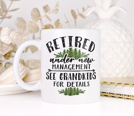 Gift for Grandpa Gift Grandpa Mug with Trees, Retirement Gift for Men, Grandpa Gift, Grandpa Coffee Mug