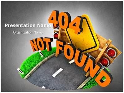 check out our professionally designed not found error ppt template