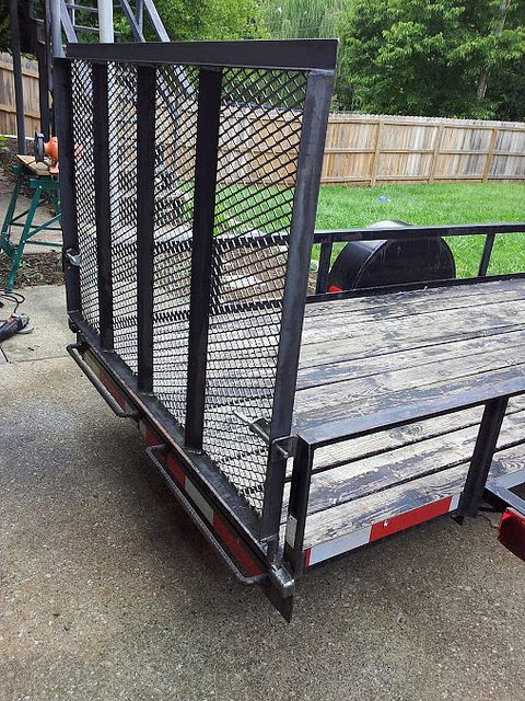 Bi Directional Utility Trailer Gate By T Schlake