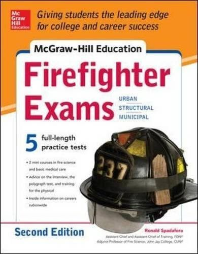McGraw-Hill Education Firefighter Exam, 2nd Edition (Test
