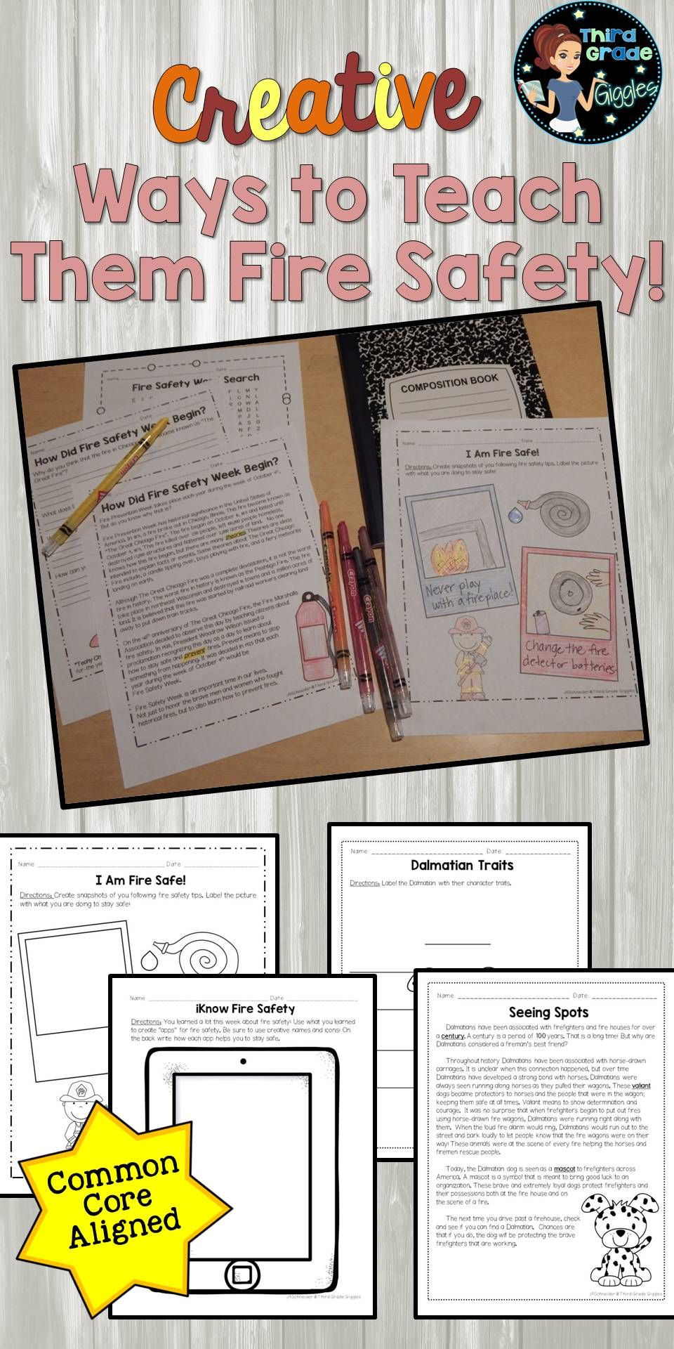Fire Safety Activities Educational Finds & Teaching