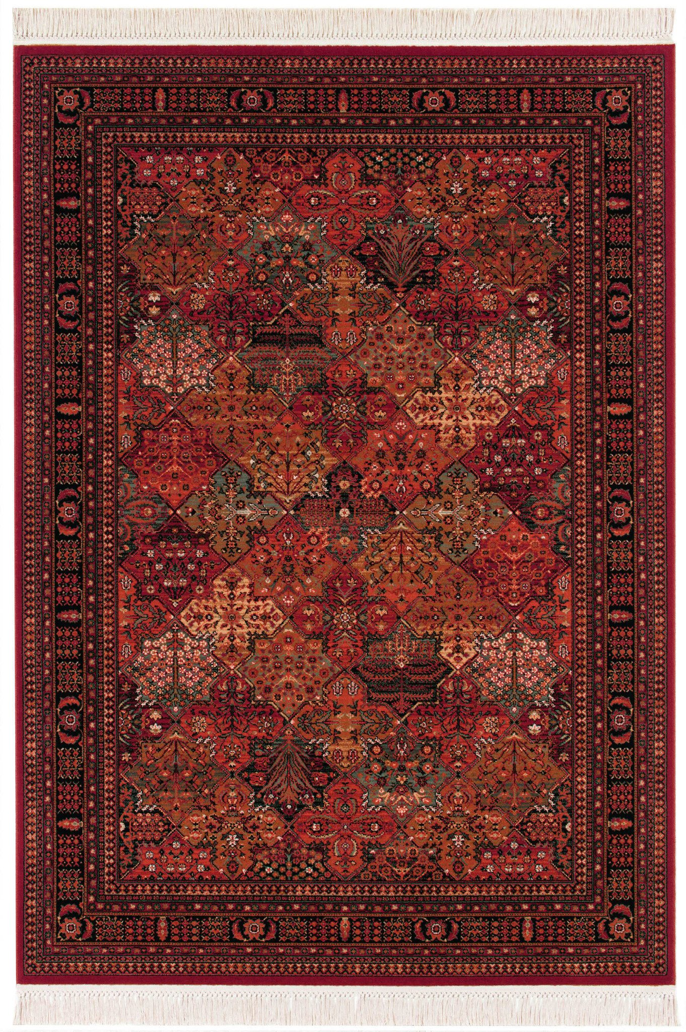 Couristan Kashimar Imperial Baktiari Area Rug In 2020 Couristan Area Rugs Red Rugs