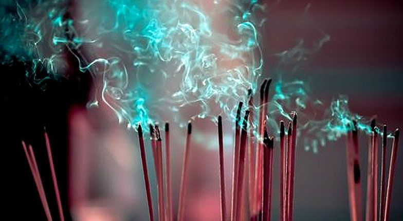 Burn incense for your health and mood.