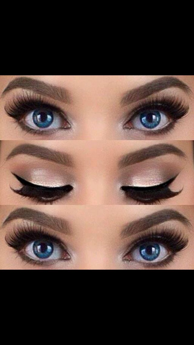 41f8914141f I don't usually like to wear fake eyelashes but this is so pretty More