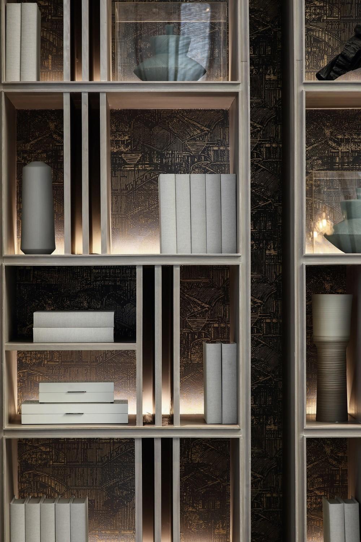 造价6500 顶级售楼中心设计丨呈现出空间美感契合的精美质感 Display Cabinet Design Joinery Design Residential Design