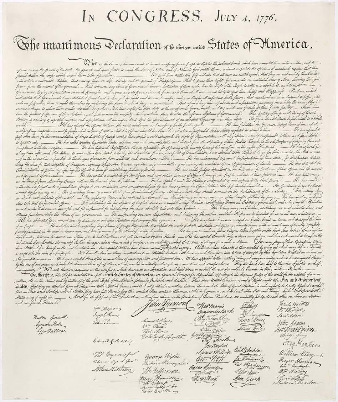 Pockethistory On Instagram 1776 August 2 Formal Signing Of The U Declaration Of Independence Declaration Of Independence Facts Us Declaration Of Independence