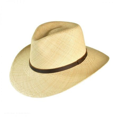 9377781670939 New Mens Stetson Pinto Straw Hat Summer Seagrass Outdoorsman Wheat Sz L XL
