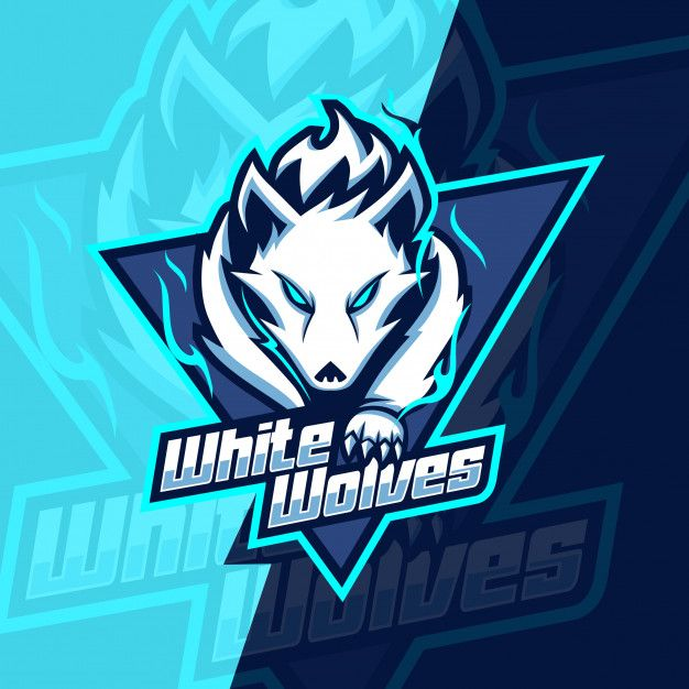 Awesome Fox Logo Blue And Orange