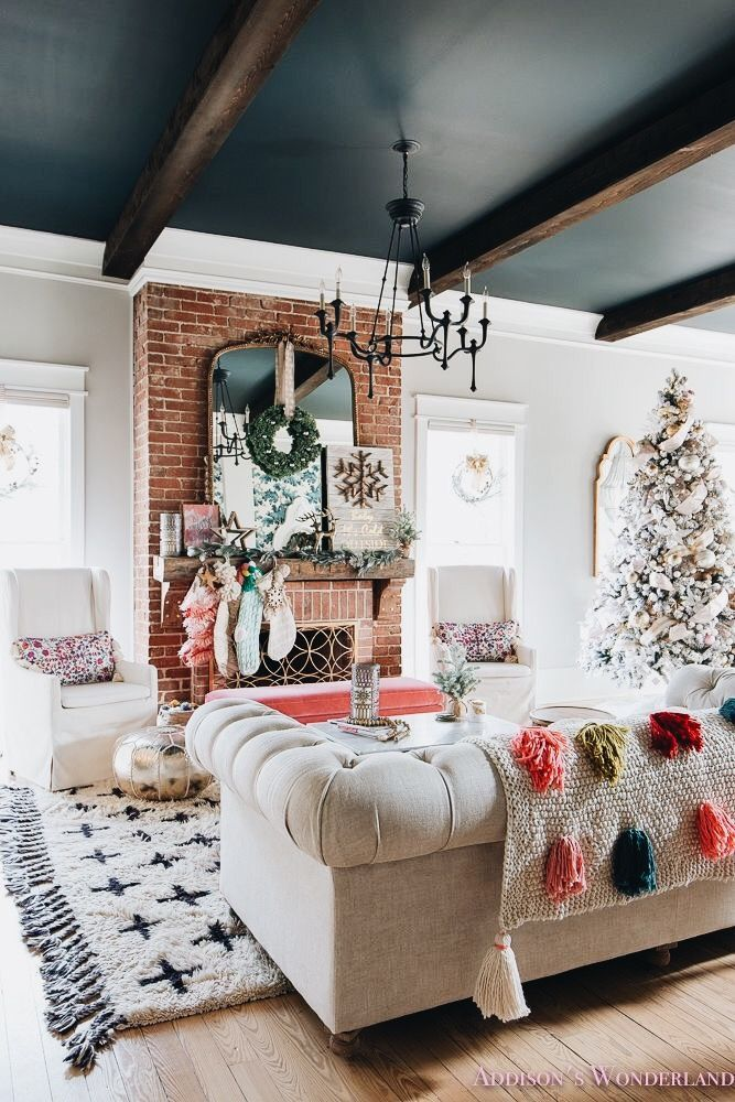 Painted ceiling Painted ceiling Home Inspo