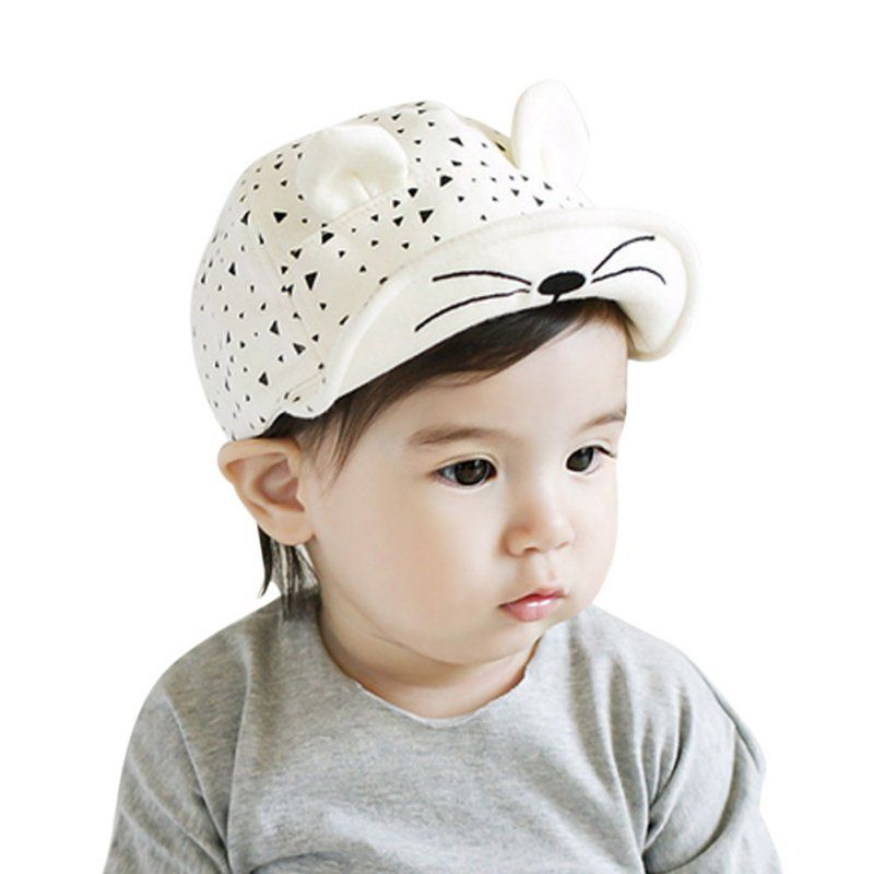 Baby Boys Girls Kids Baseball Cap Casquette Peaked Visor Snapback Adjustable Hat