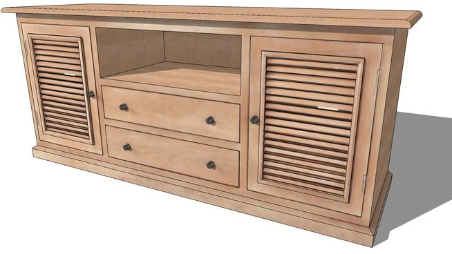 Meuble Tv Persiennes Maisons Du Monde Ref 139038 Prix 549 90 Furniture Home Decor Decor